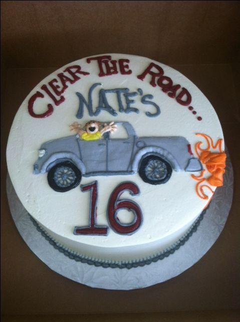 Wondrous 16Th Birthday Cake With Images 16 Birthday Cake Twin Birthday Funny Birthday Cards Online Chimdamsfinfo