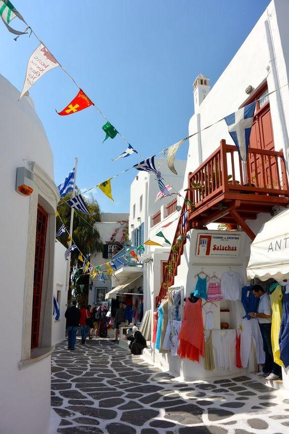 Mykonos. Grécia