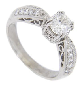 Antique Style Engagement Rings R1220