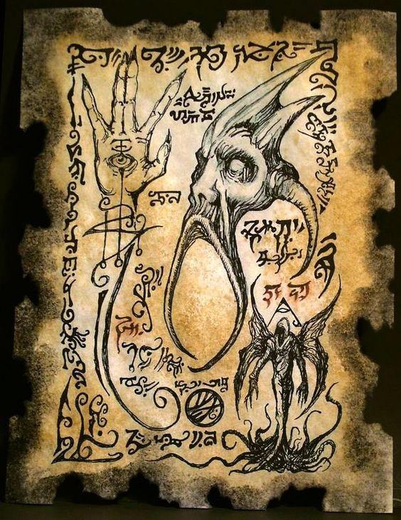 El Necronomicón,un libro salido de los infiernos E897d0acc2f9e923d59badab156ac517