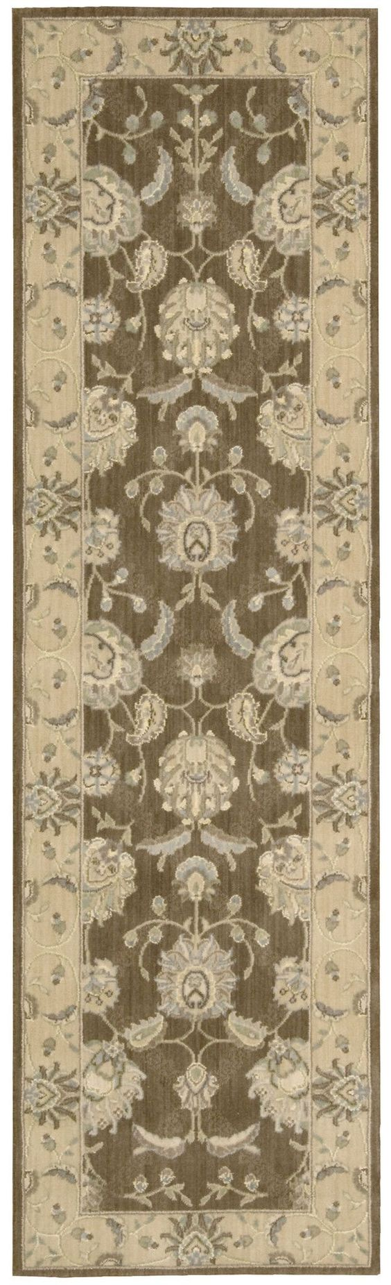 Nourison Persian Empire Chocolate Area Rug PE22 CHO (Runner)