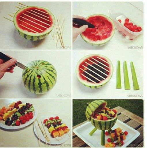 Seriously how cool would this look at a bbq! Must try this!