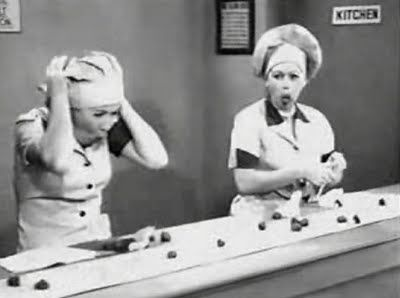 I Love Lucy.  What fun.