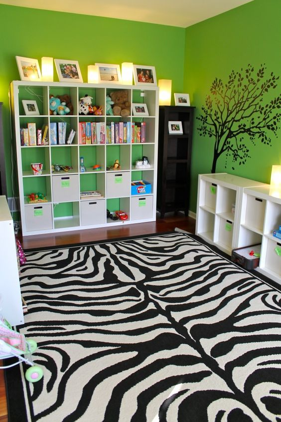 """Safari"" Play Room - works for both boys and girls!"