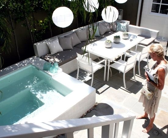 Image result for small jacuzzi for balcony