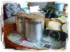 *Anleitung* das Brot aus der Konservendosen - Wie man Dosenbrot backt - MissZuckerguss - kreatives aus recycelten materialien