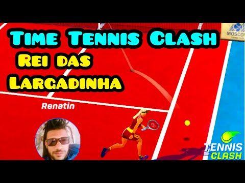 Mestre Das Largadinhas Em Acao Tennis Clash Youtube Clash Mestre Youtube