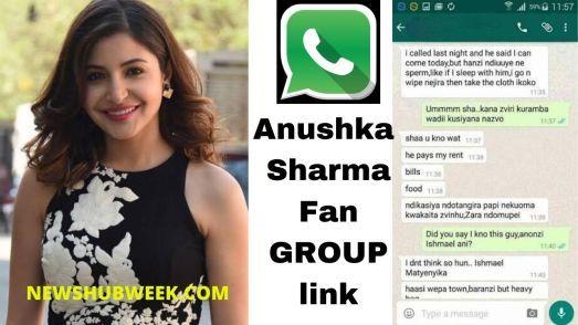 Join 2 Anushka Sharma Fan Club Whatsapp Groups Link New Update Newshubweek Whatsapp Group Anushka Sharma Sharma