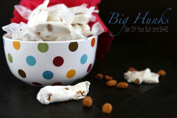 HOMEMADE BIG HUNK CANDY BARS - So easy, and much better than store bought!