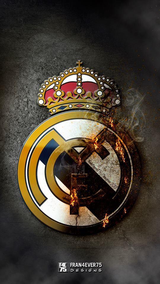 Real Madrid Shield Futbolrealmadrid Gambar Olahraga Sepak Bola