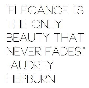 elegance: