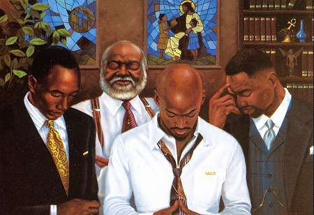 An Afro-Kin Store - Black Religious Art, Religious African American Art: