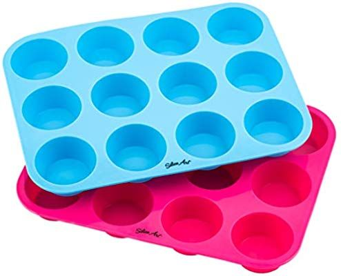 Baking Pan Cake Mold Candle Mold Soap Mold Ice Cube Silicone Perfect Home Blue