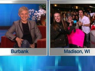 LIVE from Madison, Wisconsin | EllenTV.com