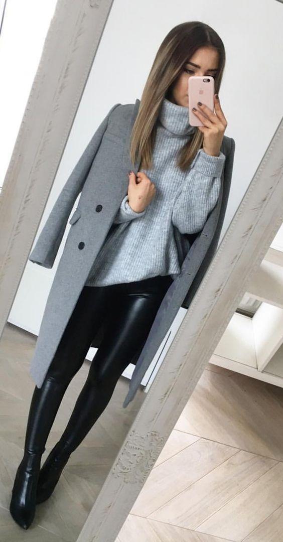 Pin De Sintonía Femenina En Style Moda Ropa De Trabajo Ropa De Invierno Mujer Ropa De Moda
