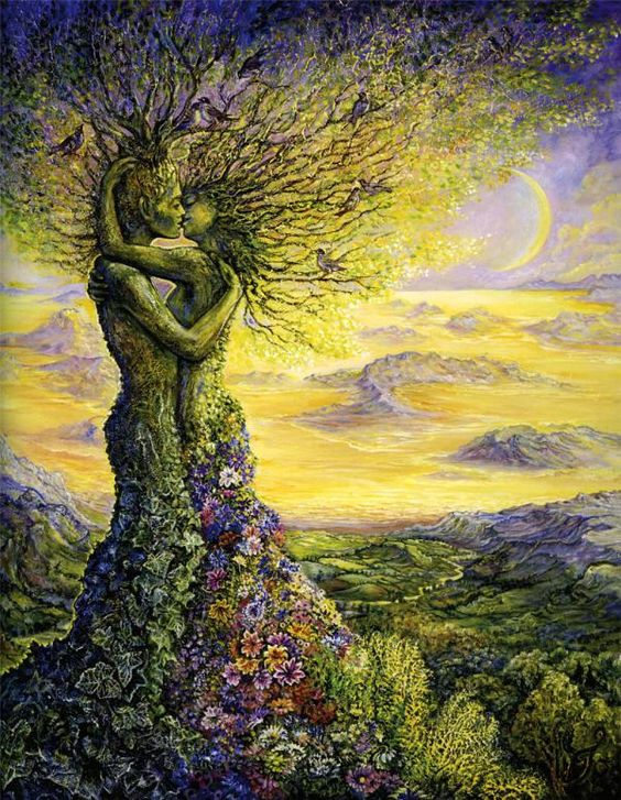 Nature embrace by Josephine Wall