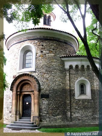 Ancient Cemetary SCRYING PORTALS Gate | The Vyšehrad Castle in Prague | Happy Steps travel blog