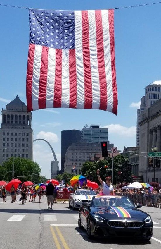 The 2020 Bmw Z4 M40i Convertible Followed By The 2019 Bmw 430i Xdrive In The St Louis Pride Parade Pride Stlpride Pridestlouis Parade Oldglory July4th Di 2020
