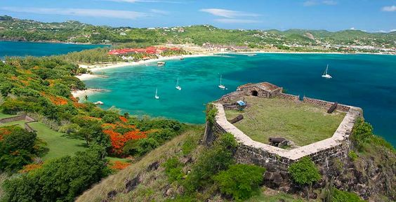St.Lucia! Pigeon Island. Omg! I was here this picture doesn't lie. So beautiful, I get so happy looking at this photo. Bring your camera and be amazed at the views. Love St.Lucia