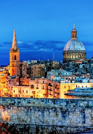 Valletta, Malta -my dad spent years in world war 2 here -it was the most bombed place in the world -they all nearly starved. The island was awarded the George Cross for their bravery and stoicism -want to go ther e someday. JMcG