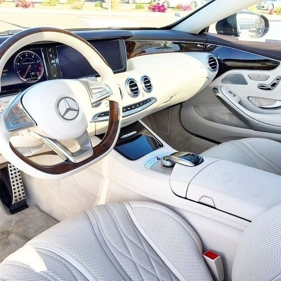 With designo's artful design and attention to detail, the S 65 AMG Coupe looks as innocent as a lamb from the inside. But wait till you hear it roar.  #MBPhotoCredit @schiznick  #Mercedes #Benz #S65 #AMG #Coupe #instacar #carsofinstagram #germancars #luxury