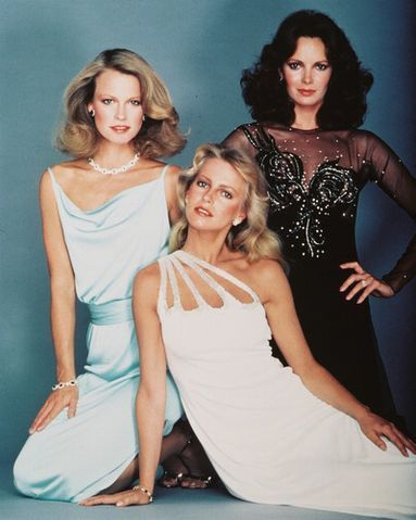 Shelley Hack, Cheryl Ladd, and Jaclyn Smith- The original Charlie's Angels.