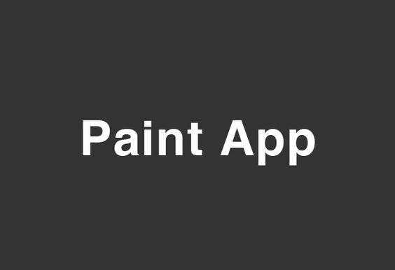 PaintApp August 30th Event