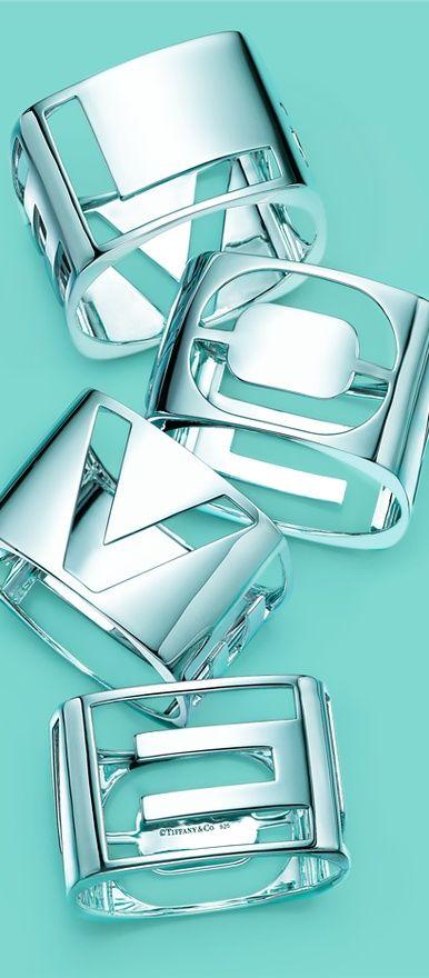 Tiffany's L O V E bracelets