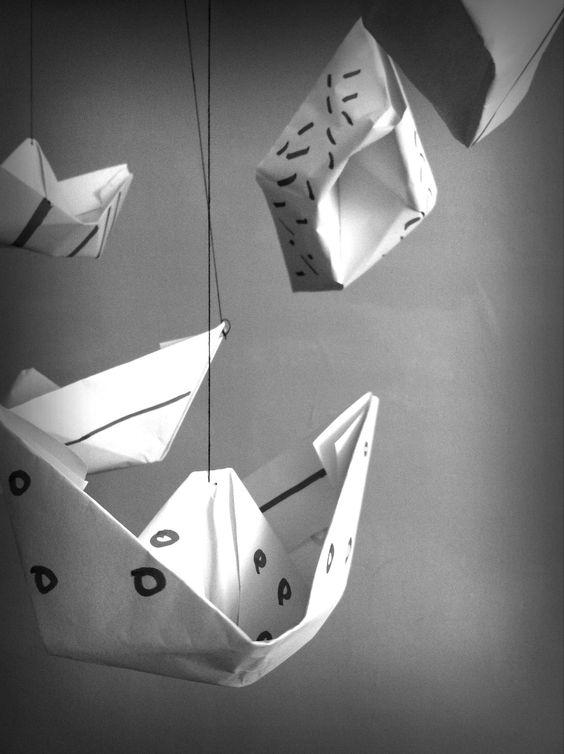 Barcos de papel 2