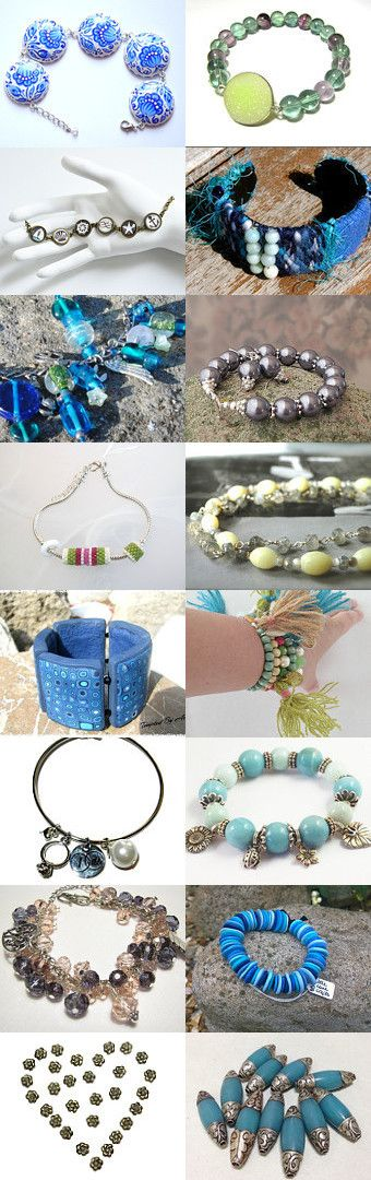 Beautiful Bracelets by Diona Ale on Etsy--Pinned with TreasuryPin.com
