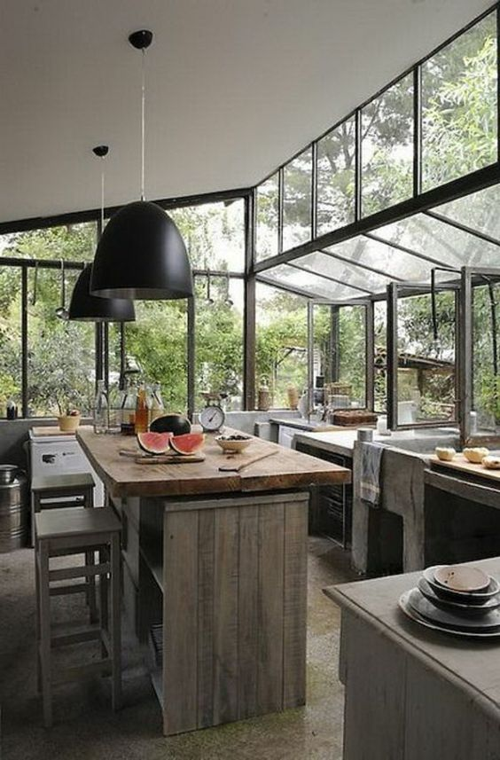 Comment bien choisir un îlot de cuisine? 45 idées en photos pour la cuisine! - Archzine.fr
