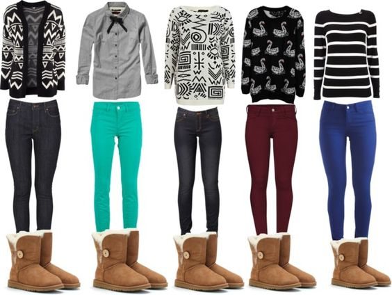 """""""Chesnut Ugg Outfits(:"""" by liveitupdance17 on Polyvore"""