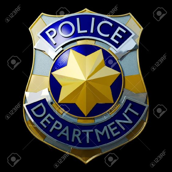 16802467-shiny-golden-and-silver-police-badge-3d-Stock-Photo-officer.jpg (1300×1300)