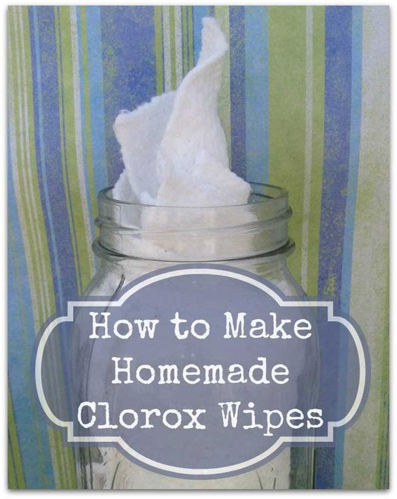 Greener homemade clorox wipes without the harmful for Homemade cleaning solution for concrete