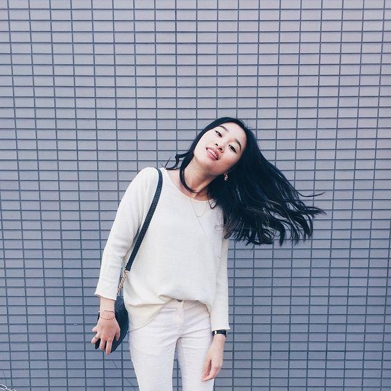 Tokyo Japan fashion White