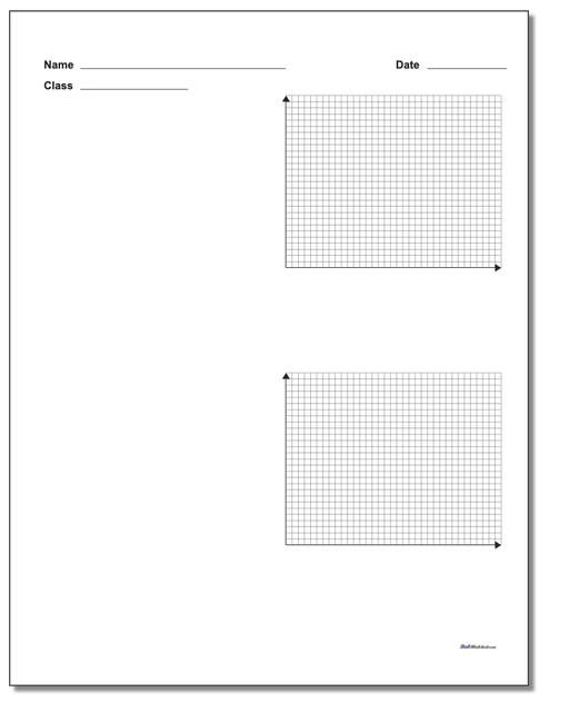 The Blank Coordinate Planes On This Page Include Variations With Labels On Either The Axis In 2020 With Images Coordinate Plane Free Printable Math Worksheets Math Facts Addition