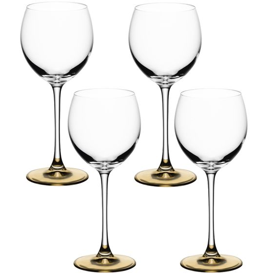Lovely Wineglasses In Loads Of Colours Wedding Table Ideas