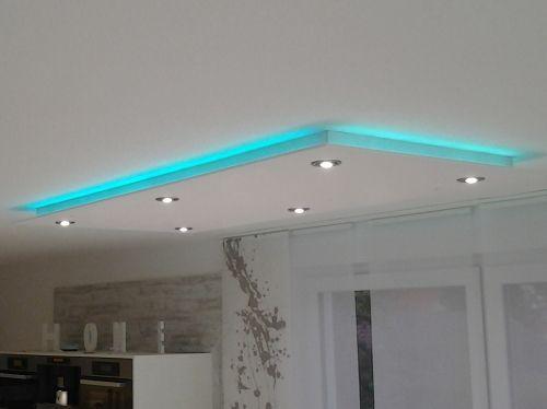 Verkabelung für die indirekte LED Voutenbeleuchtung in Kombination - led lampen für badezimmer