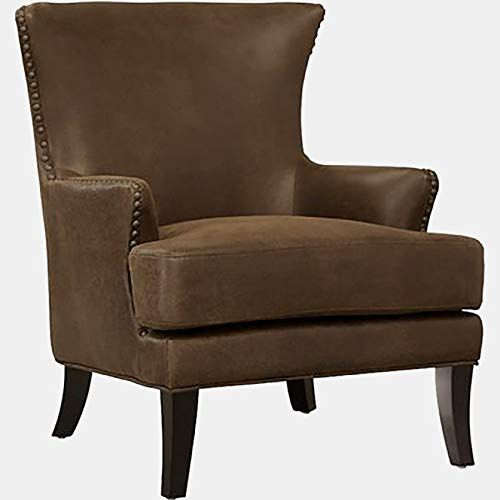 Fabric Accent Chair With Tight Back Accent Wingback Chair With