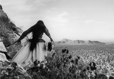 """""""Mujer angel (Angel woman)"""", 1979 Graciela Iturbide. Exhibition at Southeast Museum of Photography: El ojo fino / The Exquisite Eye: Contemporary Women Photographers from Mexico"""