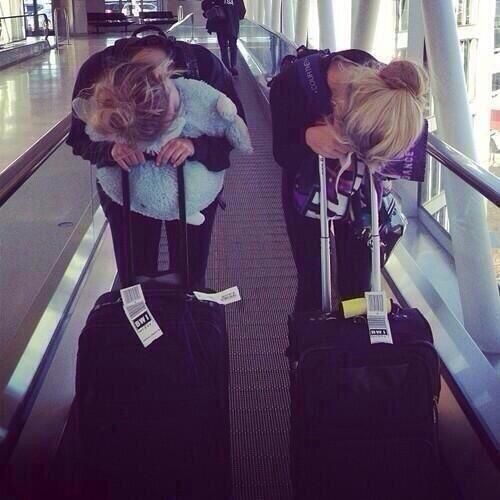 This will be us when we travel together! :) x