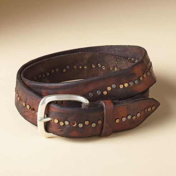 TUSCAN STUDDED BELT