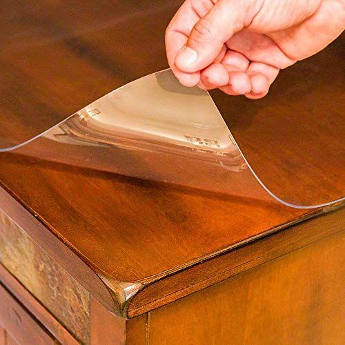 Transparent Pvc Tischdecke Tischschutz Hochwertig Tischfolie Tischabdeckung Kuche Glasklar Abwaschbar Wasserdi Pvc Tischdecke Tischdecke Tischdecke Transparent