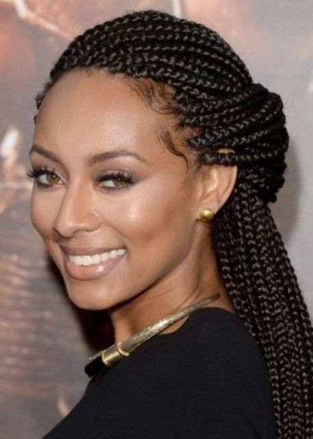 50 Best Black Braided Hairstyles For Black Women 2018 Collection Cruckers Natural Hair Styles Hair Styles Box Braids Hairstyles