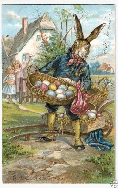 Celtic Lady: RABBITS WEARING CLOTHES: