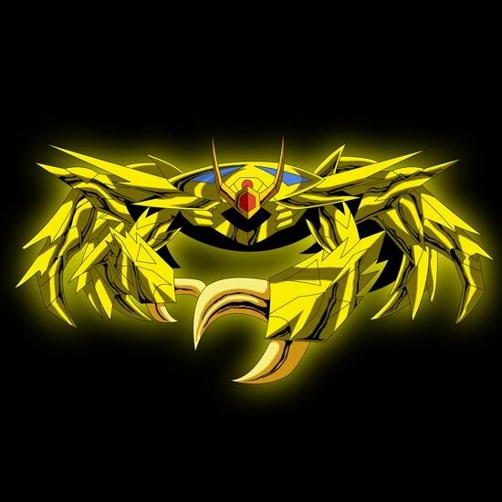 armadura de oro de cancer