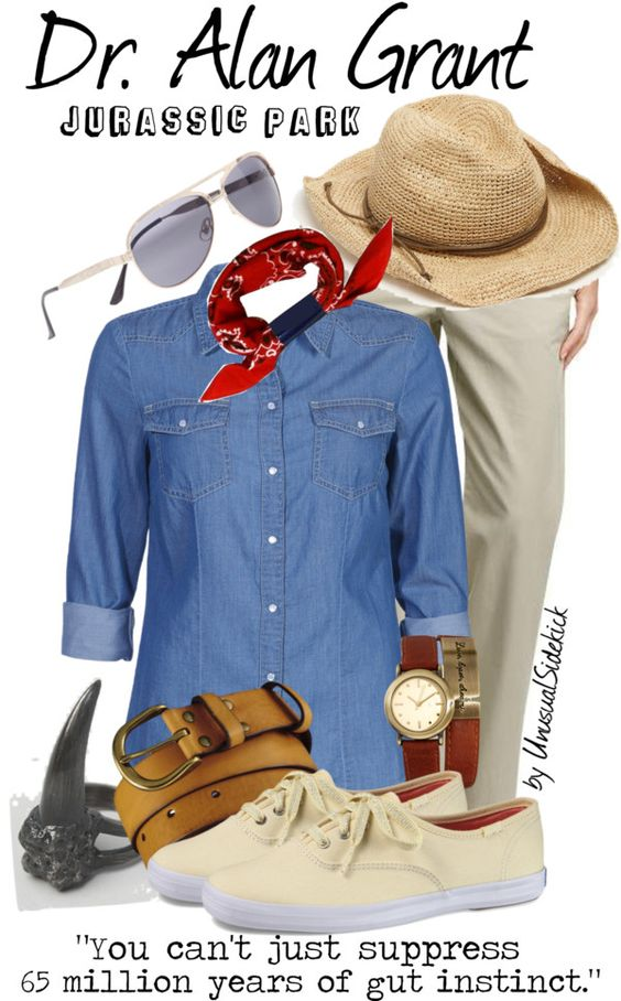 """Grant - Jurassic Park"" by unusualsidekick on Polyvore"