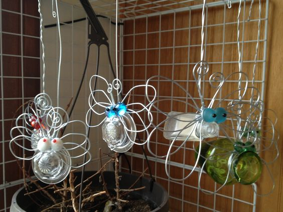 it's bloomin' bugs! I make these and have them for sale at local shows and in my space at A Collective Gathering in Potter NE.