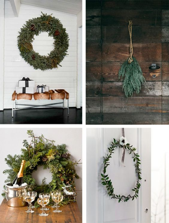 The right swag of green can make all the difference when decorating for the holidays.