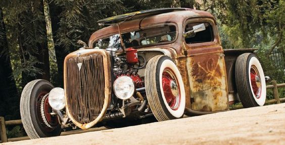 36' Billy Gibbons' Ford Truck